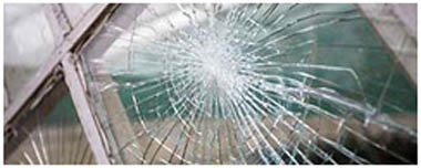 South Normanton Smashed Glass